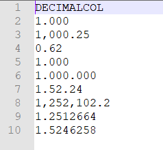 Test file import decimals