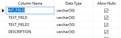 Imported datatypes are wrong